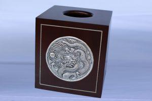 Carved-Steel-Tissue-Box