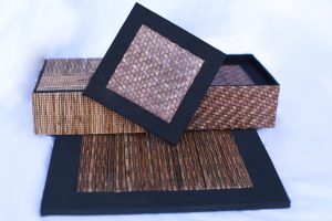 Coaster-From-Natural-Fiber